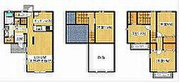 [テラスハウス] 東京都町田市広袴3丁目 の賃貸【東京都 / 町田市】の間取り