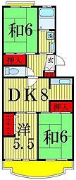 エクセルエステートヨシダ2[4階]の間取り