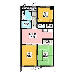 マンション司[1階]の間取り