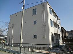 千葉県柏市松葉町5丁目の賃貸アパートの外観