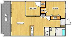 フジマンション[111号室号室]の間取り