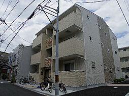 大阪府大阪市生野区鶴橋1丁目の賃貸アパートの外観