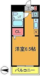 パレ・ドール亀有2[405号室]の間取り