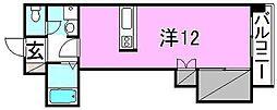 アビターレ松山[306 号室号室]の間取り