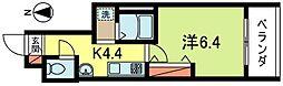 メゾンドボヌール[3階]の間取り