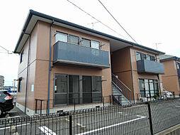 福岡県北九州市八幡西区八枝3丁目の賃貸アパートの外観