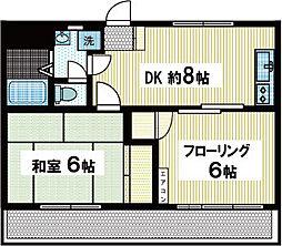 メモリーハウス72[2階]の間取り