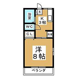 アネックスK[2階]の間取り