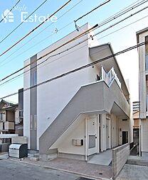 愛知県名古屋市中川区高畑2丁目の賃貸アパートの外観
