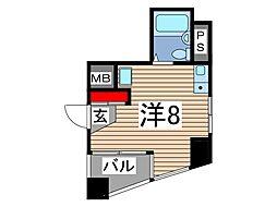 スカイコート西川口第6[2階]の間取り
