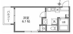 仮称)西日暮里5丁目アパート[203号室]の間取り