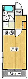 誠和ハイツ甲子園[3階]の間取り