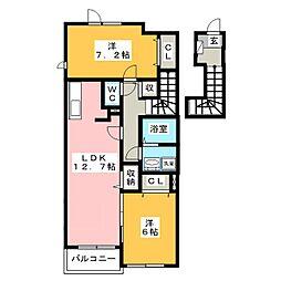 メゾンY[2階]の間取り