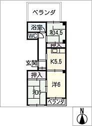 丸星ビル[3階]の間取り