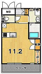 アクアプレイス京都西陣[2階]の間取り