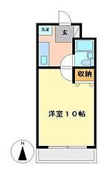 第七和興ビル[4階]の間取り