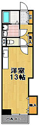 高見フローラルタウン七番街14号棟[2階]の間取り