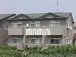 サンシャインW D[2階]の外観