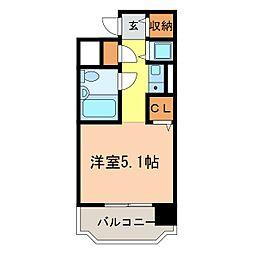 朝日プラザ河内長野デポーフロント[206号室]の間取り