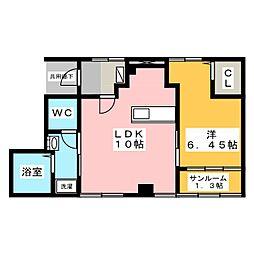 榊原マンション[2階]の間取り