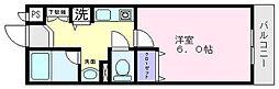 ルミエールマゴジ3[3階]の間取り