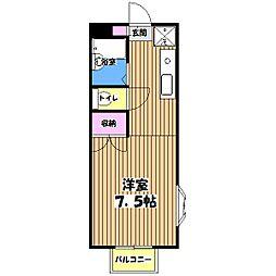 SunHeim華[0階]の間取り