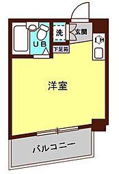 リーヴェルステージ横浜南[602号室]の間取り