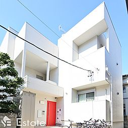 愛知県名古屋市千種区春里町1丁目の賃貸アパートの外観