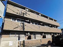 神奈川県相模原市中央区淵野辺本町1丁目の賃貸アパートの外観