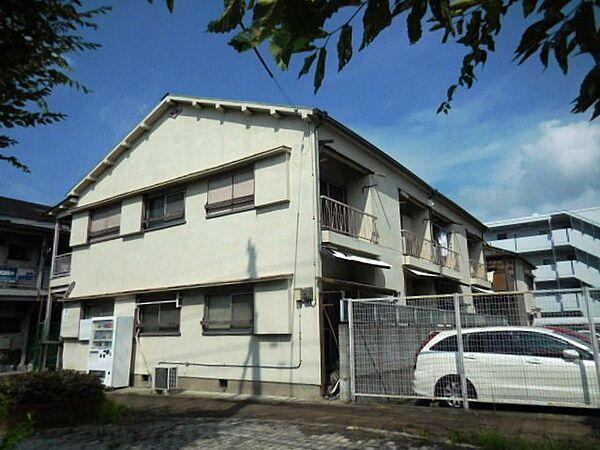 兵庫県尼崎市口田中1丁目の賃貸アパートの外観