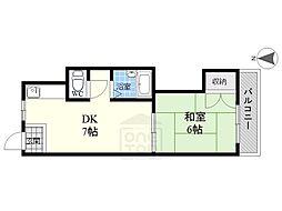 国府宮マンション[3階]の間取り