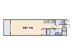 ピュアメゾン五日市[5階]の間取り