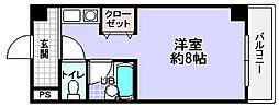 第2ハートビル[4階]の間取り