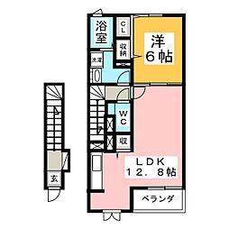 ウインド・フィルI[2階]の間取り