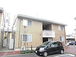 新潟県新潟市江南区梅見台2丁目の賃貸アパートの外観