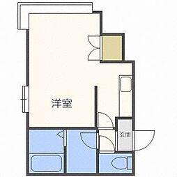ピュアネス円山[1階]の間取り