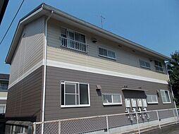 広島県福山市千田町字坂田北の賃貸アパートの外観