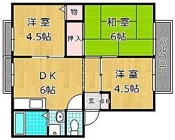 スティラクス B棟[2階]の間取り