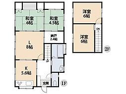 一階の各部屋の扉を開け放つと大きな空間に変身します。