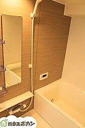 新築同様ピカピカの浴室を使用していただけます。