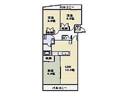 ステーション'95[2階]の間取り