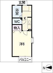 シンフォニー[1階]の間取り