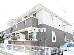 静岡県静岡市清水区能島の賃貸アパートの外観