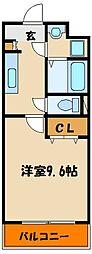 シエルオカモト[3階]の間取り