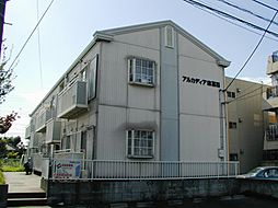 東京都江戸川区東葛西4丁目の賃貸アパートの外観
