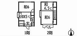 [一戸建] 福岡県北九州市小倉北区原町2丁目 の賃貸【/】の間取り