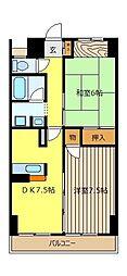 JUN朝霞ビル[4階]の間取り
