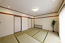 約10帖ある和室スペースです。
