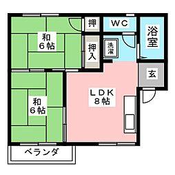 近鉄蟹江駅 4.7万円