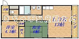 グレイスガーデン新森2号館[5階]の間取り